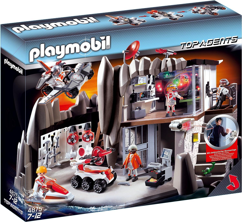 Playmobil top agent enjoliveur de la voiture des espions 4878 4365 5337 9489