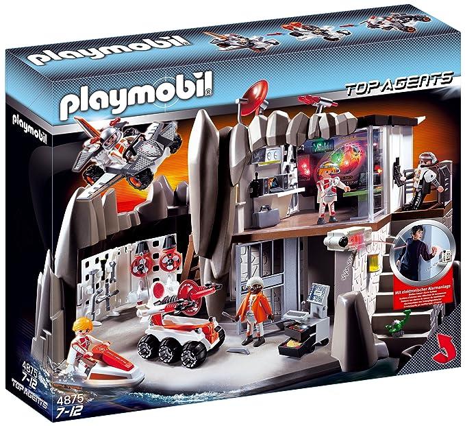 14 opinioni per Playmobil 4875- Quartier Generale degli agenti segreti con sistema d'allarme