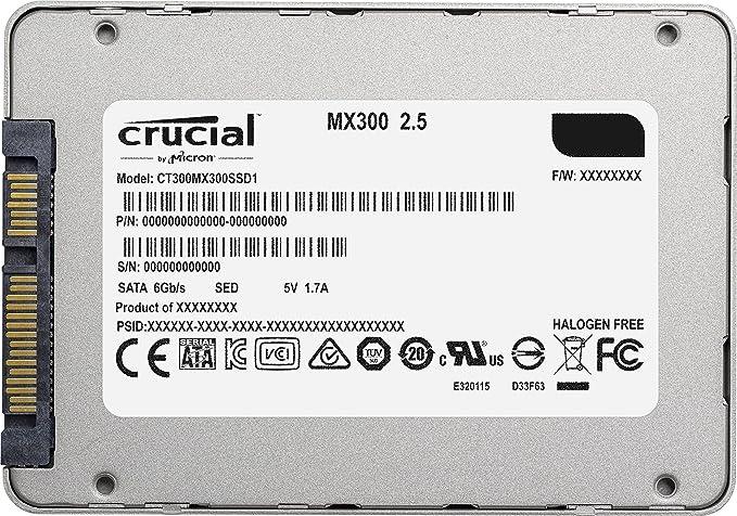 Crucial MX300 CT275MX300SSD1 - Disco Duro sólido Interno SSD de ...