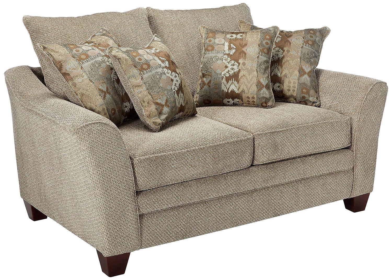 Franklin Furniture Ashland Loveseat, Large, Stone