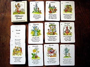 Juego de cartas, Quartett para niños.Bosque geisterlein de ...