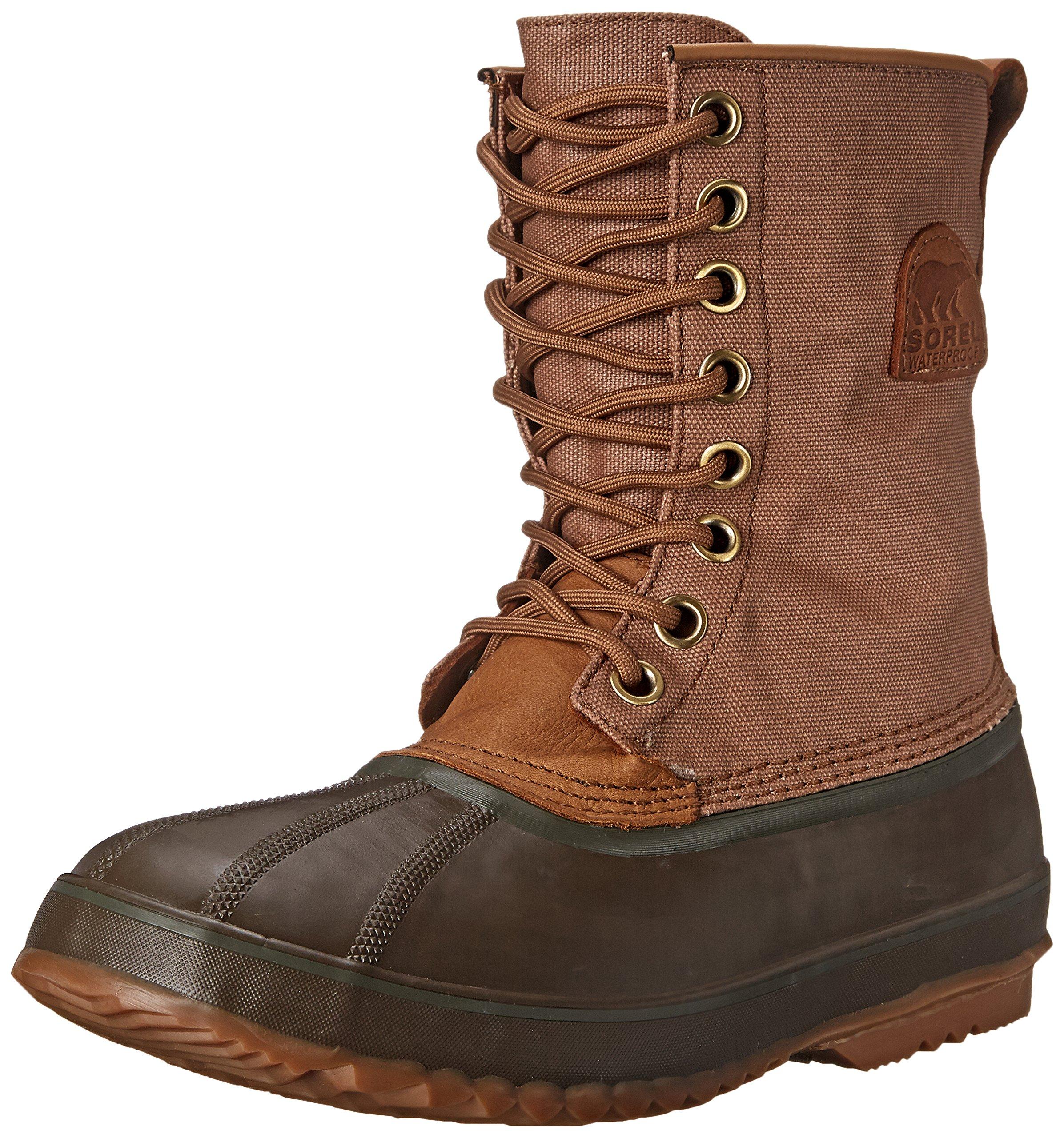SOREL Men's 1964 Premium T CVS Boot, Peatmoss, Bright Copper, 11.5 M US by SOREL