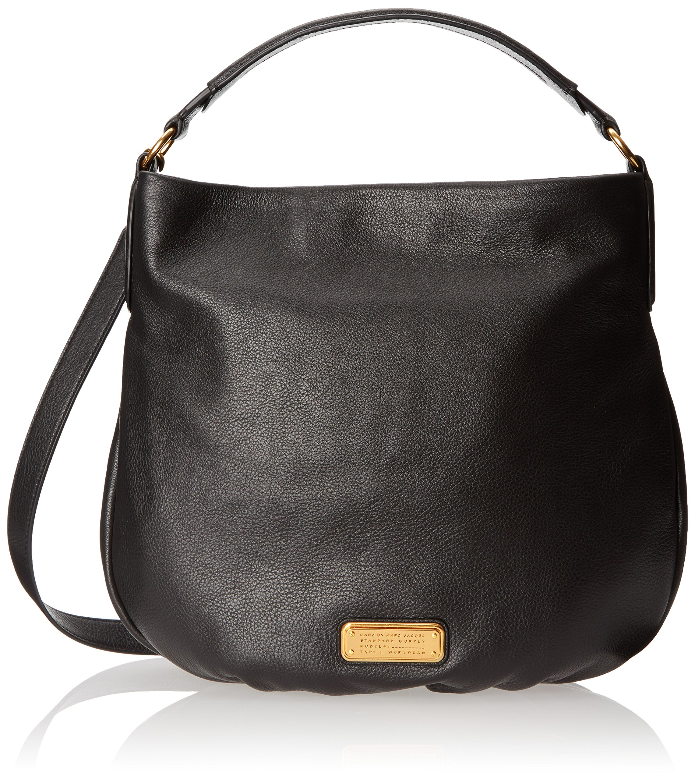 Marc by Marc Jacobs New Q Hillier Convertible Hobo, Black, One Size