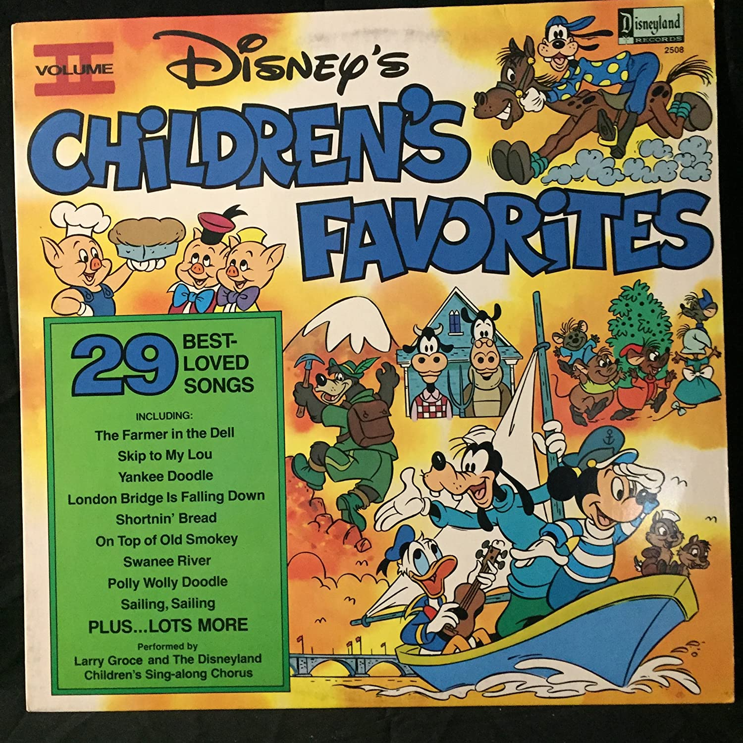 Larry Groce and the Children s Sing Along Chorus Disneys Childrens