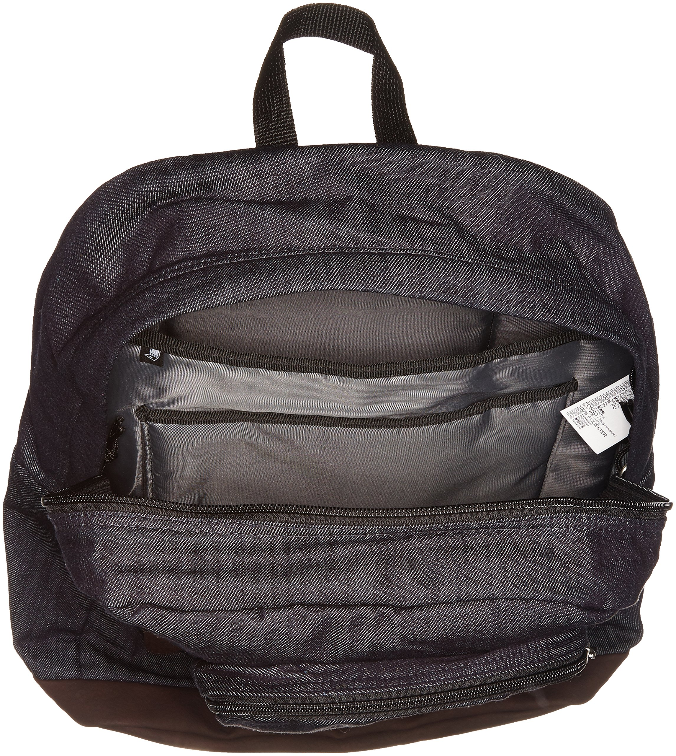 JanSport Houston Laptop Backpack- Discontinued Colors (Blue Denim - Expressions) by JanSport (Image #3)