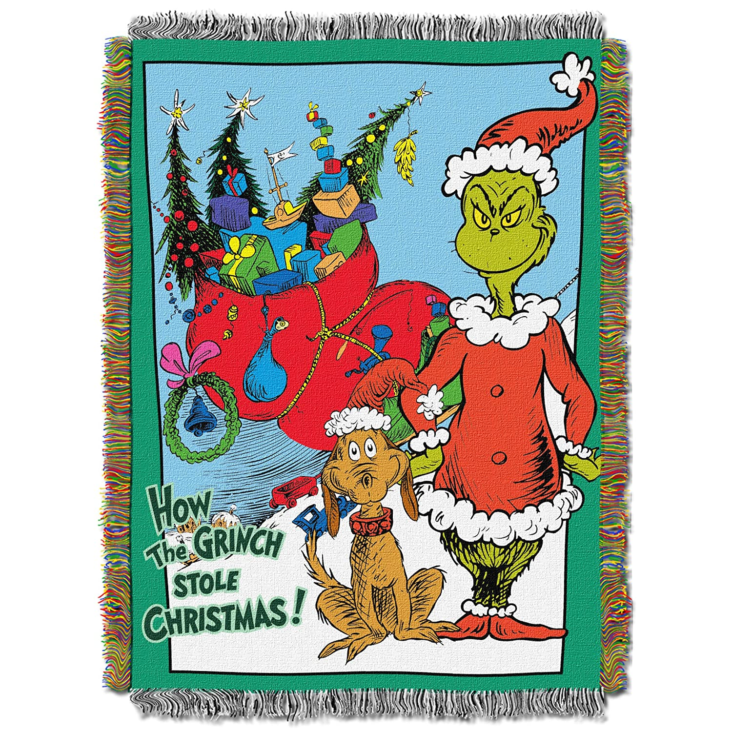 Amazoncom Dr Seuss How The Grinch Stole Christmas, Christms Smile