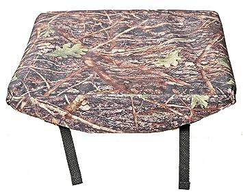 Diseño de camuflaje resistente al agua, a la lluvia asiento cojín para gradas, Estadio
