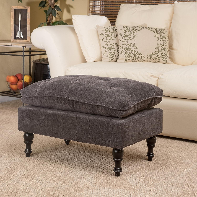 Amazon.com: Great Deal Furniture 211693 Cordoba Grey Tufted ...