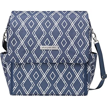 Amazon.com  petunia pickle bottom Glazed Boxy Backpack Indigo One ... c44f729743cef