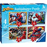 Ravensburger 06915 6  4 Puzzle in a Box Spiderman