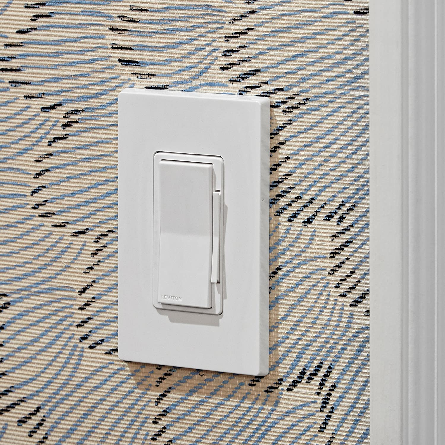 Leviton DW15P-1BW Decora Smart Wi-Fi Mini Plug-In Outlet Works with Alexa Google Assistant and Nest No Hub Required