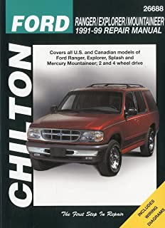 Ford ranger mazda b series pick ups automotive repair manual all ford ranger explorer and mountaineer 1991 99 chilton total car care fandeluxe Choice Image