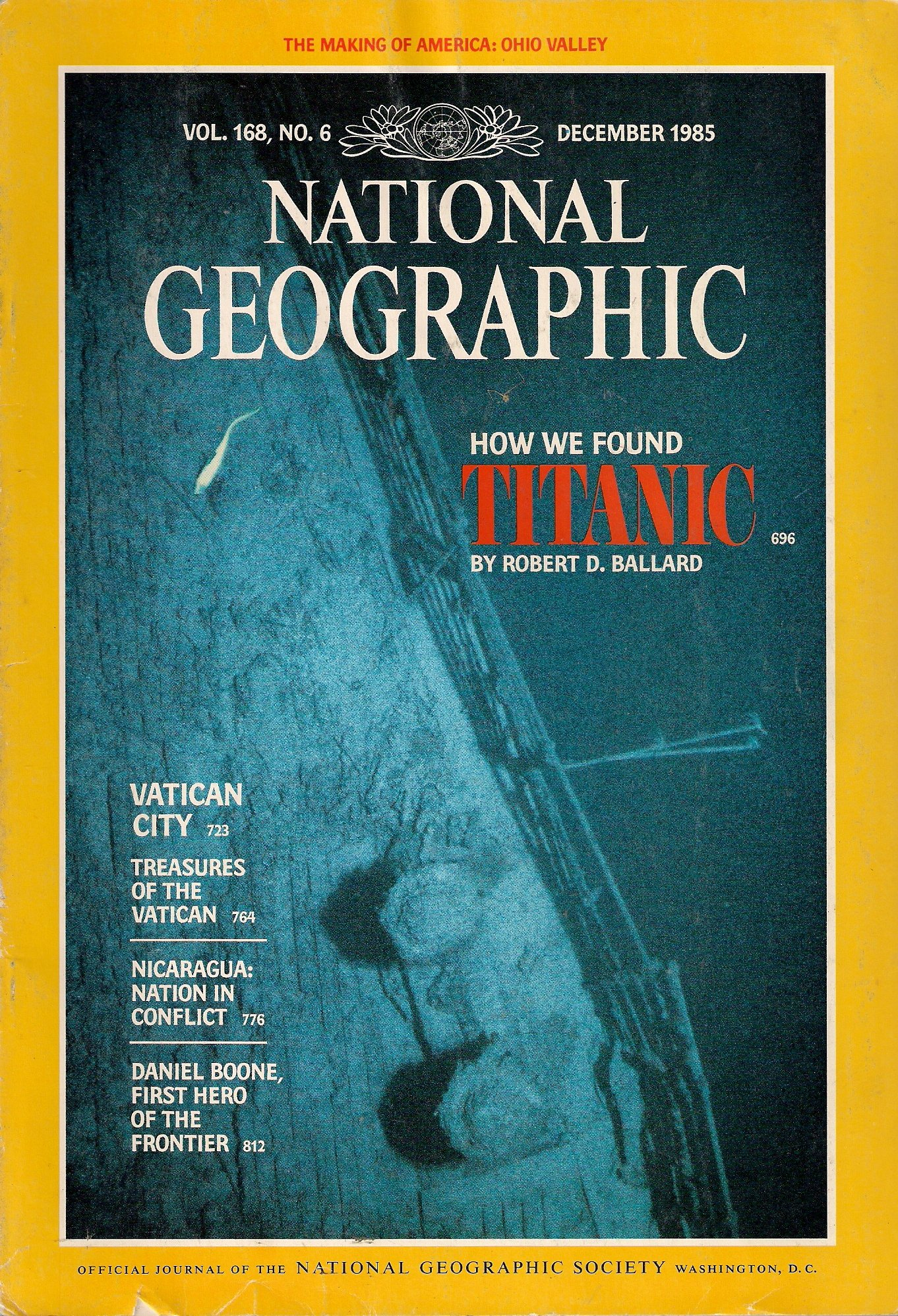 Image result for National Geographic Titanic 1985