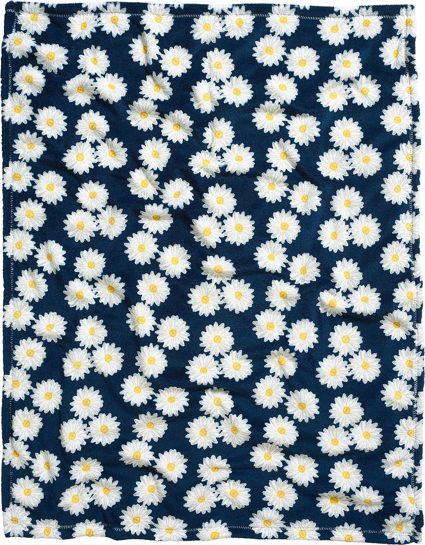 Playshoes 301712 Couverture polaire pour b/éb/é Motif marguerite Bleu