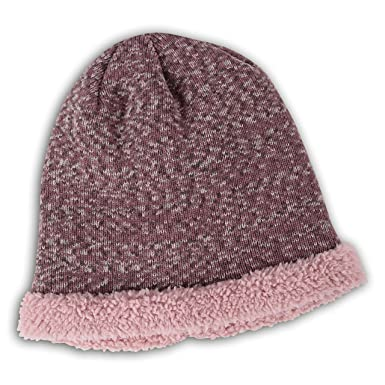 World s Softest Weekend Collection Women s One Size Sherpa-Lined Ragg  Toboggan 50d34177e5