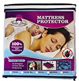 Bed Bug Mattress Protector - Waterproof & Hypoallergenic - Protects Against Bed Bugs, Dust Mites, Allergens, and Bacteria - Premium Zippered Design to Fully Encase Your Mattress - 10 Year Warranty (Full)