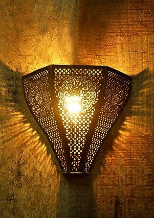 Logam vintage moroccan wall lamp amazon home kitchen logam vintage moroccan wall lamp aloadofball Choice Image