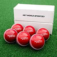 Kwik Cricket Balls | Orange Cricket Windballs | Junior and Senior Cricket Practice Balls | Backyard Cricket Ball [Net World Sports]