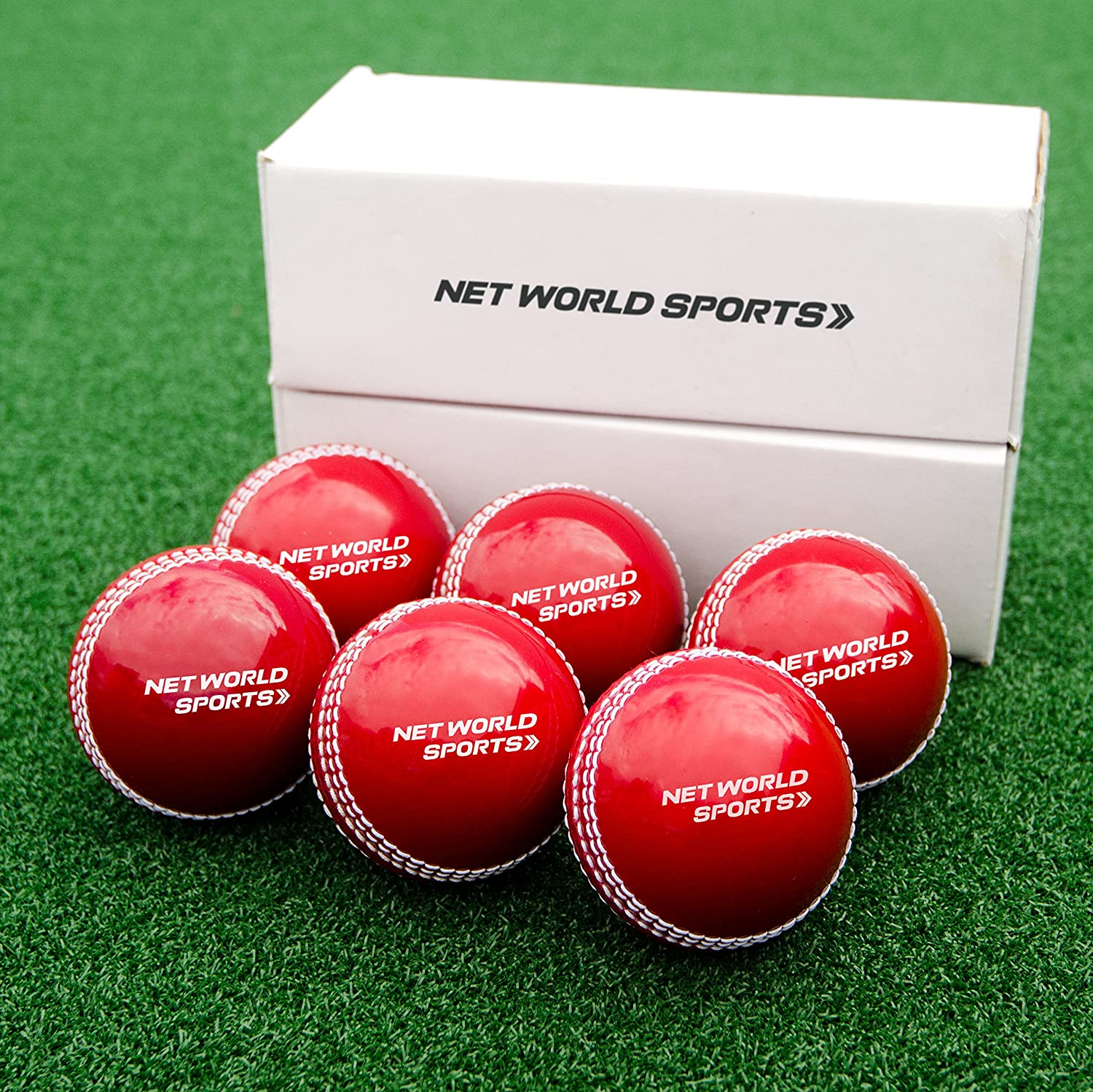 Cricket 'Incrediball' Practice Balls [6 Pack] - Excellent training aid for all players - [Net World Sports] by Net World Sports