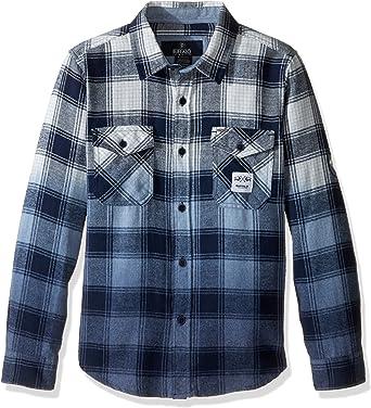 Buffalo - Camisa - para niño multicolor azul marino/blanco X-Large: Amazon.es: Ropa y accesorios