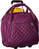 DELSEY Paris Rolling Under Seat Tote Bag, Purple, One Size