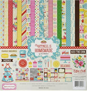 Echo Park Paper Company HIH118016 Happiness Is Homemade Collection Kit