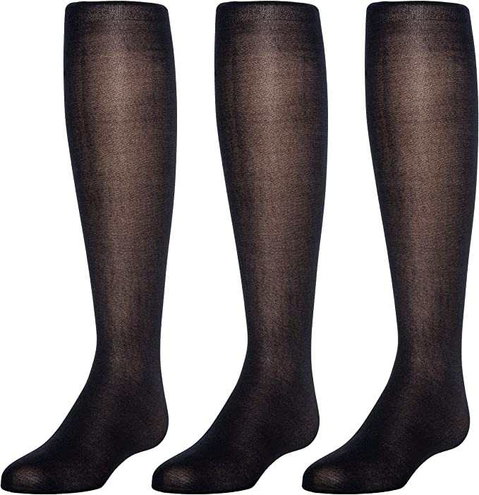 Trimfit Baby Girls Opaque Tights 3-Pack