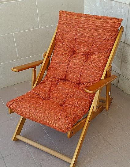 Sedie A Sdraio In Legno.Cuscini Cuscino Imbottito Di Ricambio Per Poltrona Sdraio Relax