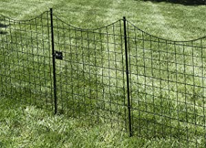 Zippity Outdoor Products WF29012 Black Metal Gate, 41