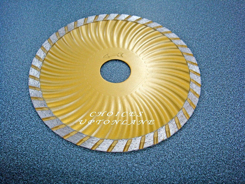 AK 125MM (5') MASONRY TURBO DIAMOND CUTTING MULTI-PURPOSE ANGLE GRINDER DISC