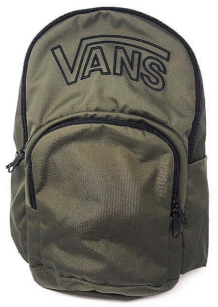 Vans Alumni Backpack (Olive Green)