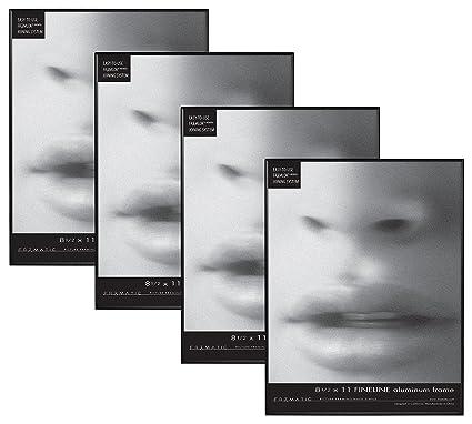 Amazon.com: Framatic Fineline 8.5x11 Inch Aluminum Frame (4pk ...