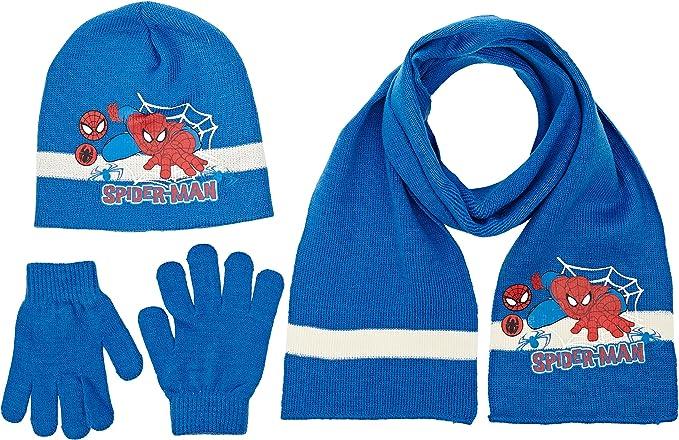 Set cappello sciarpa SPIDERMAN MARVEL guanti