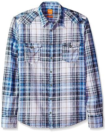 d20093650 Amazon.com: BOSS Orange Men's Erodeo 10197952 01: Clothing