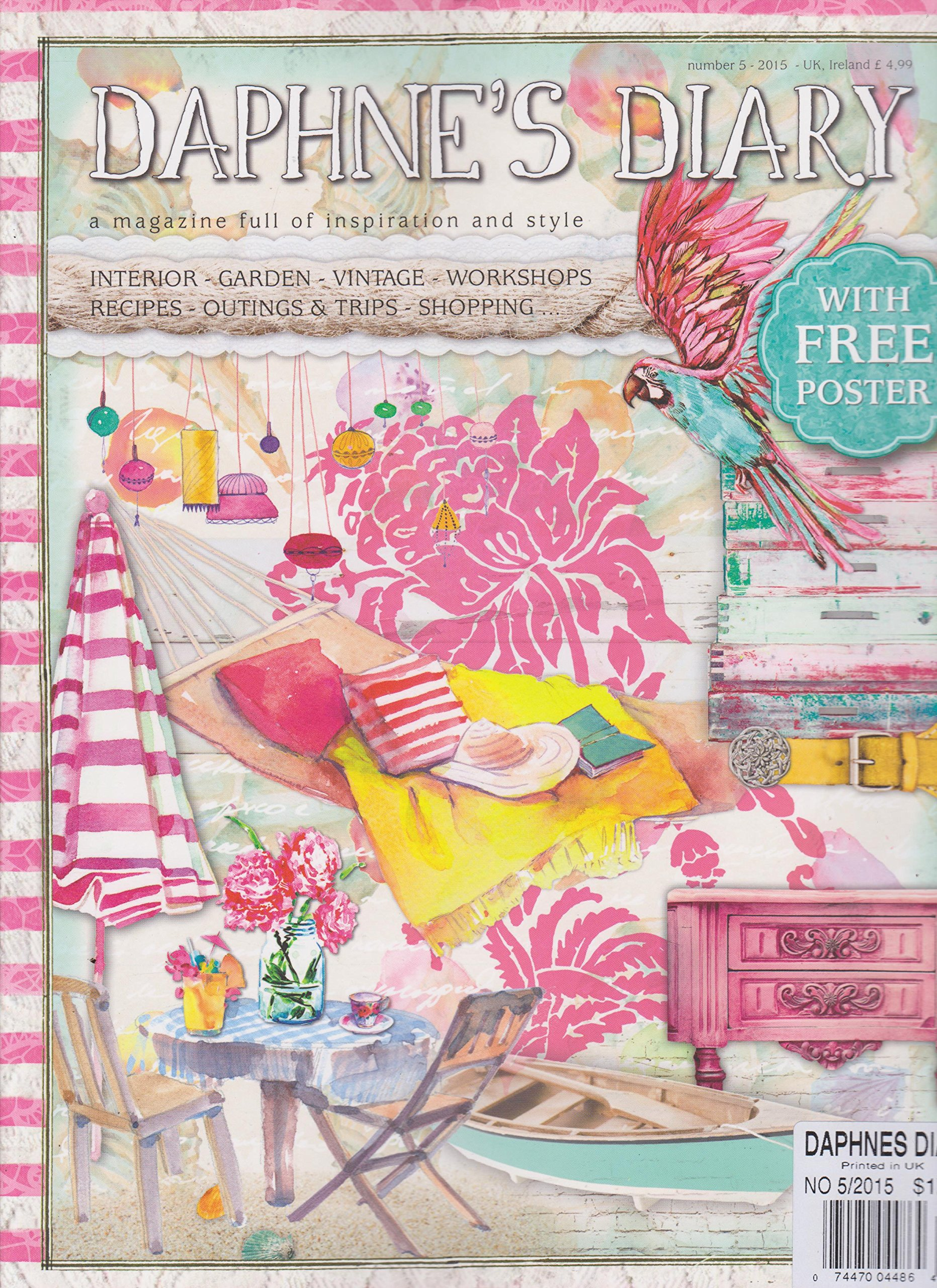 Download Daphne's Diary Magazine Number 5 2015 pdf