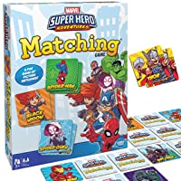Wonder Forge Marvel Matching Game for Boys and Girls Age 3 to 5 - A Fun and Fast...