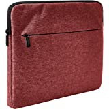 "AmazonBasics Laptop Sleeve with Front Pocket, 13"", Maroon"