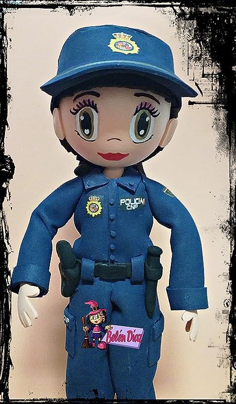Fofucha policia nacional: Amazon.es: Handmade