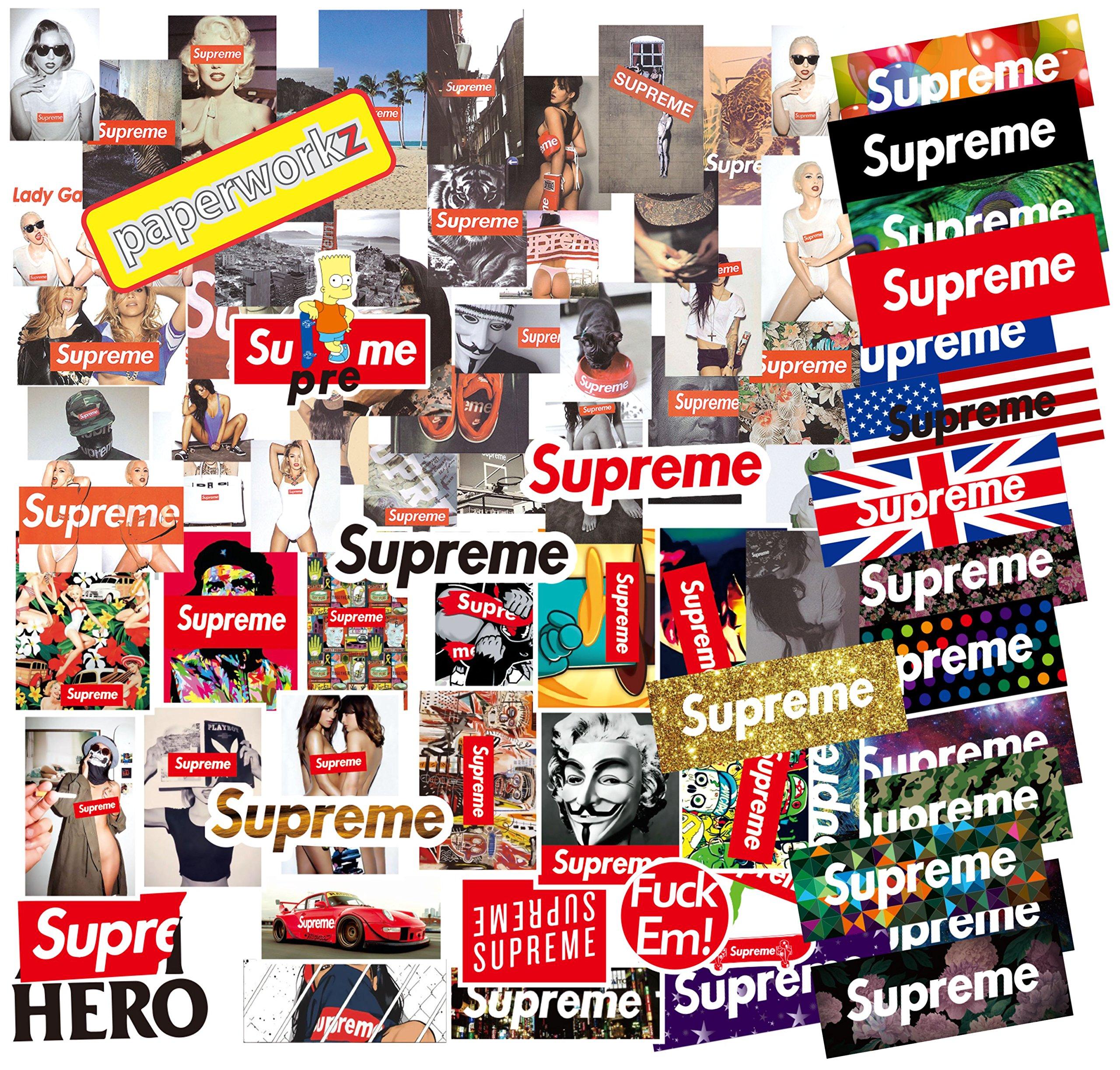 146pcs Stickers for Laptop, Skateboard, Luggage, Car, Bike or Guitar - Vinyl Decals Waterproof Graffiti Labels by paperworkz