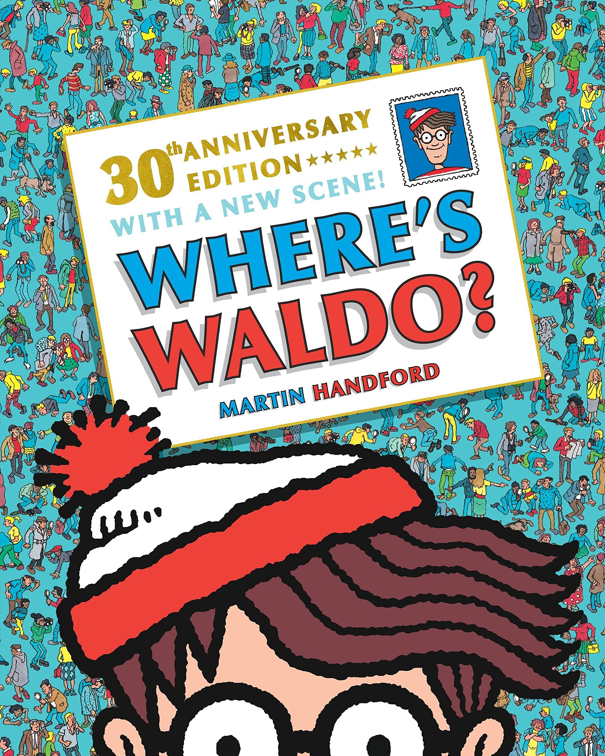 Where S Waldo 30th Anniversary Edition Handford Martin Handford Martin 9780763695798 Amazon Com Books