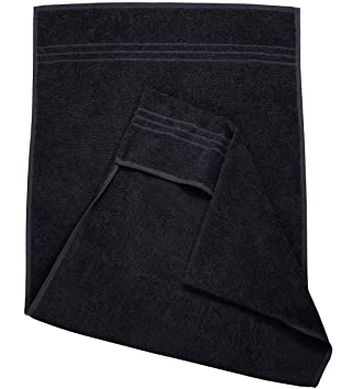 ktx7 ® Fitness de toalla/toalla de manos deportiva V.2 (Negro): Amazon.es: Salud y cuidado personal