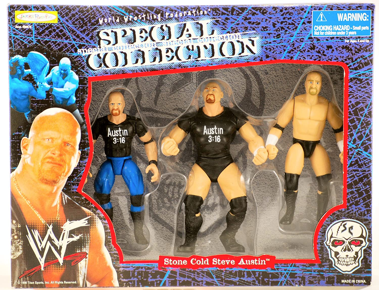 Stone Cold Steve Austin Jakks Pacific 1998 WWE WWC Wrestling Figure