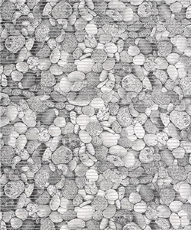 Badvorleger Aquamat Antirutsch Matte Bodenbelag, Bad Garten Küche,  Kieselsteine, Größe Wählbar (100