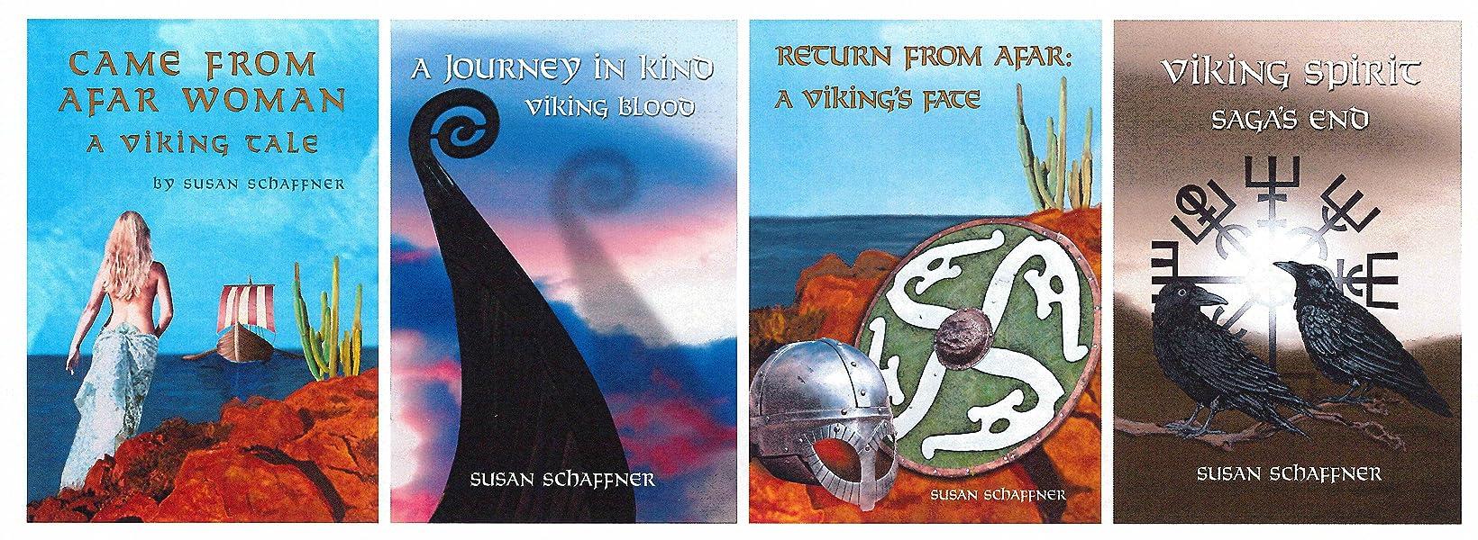 Viking Spirit: Saga's End: Susan Schaffner: 9781504975865
