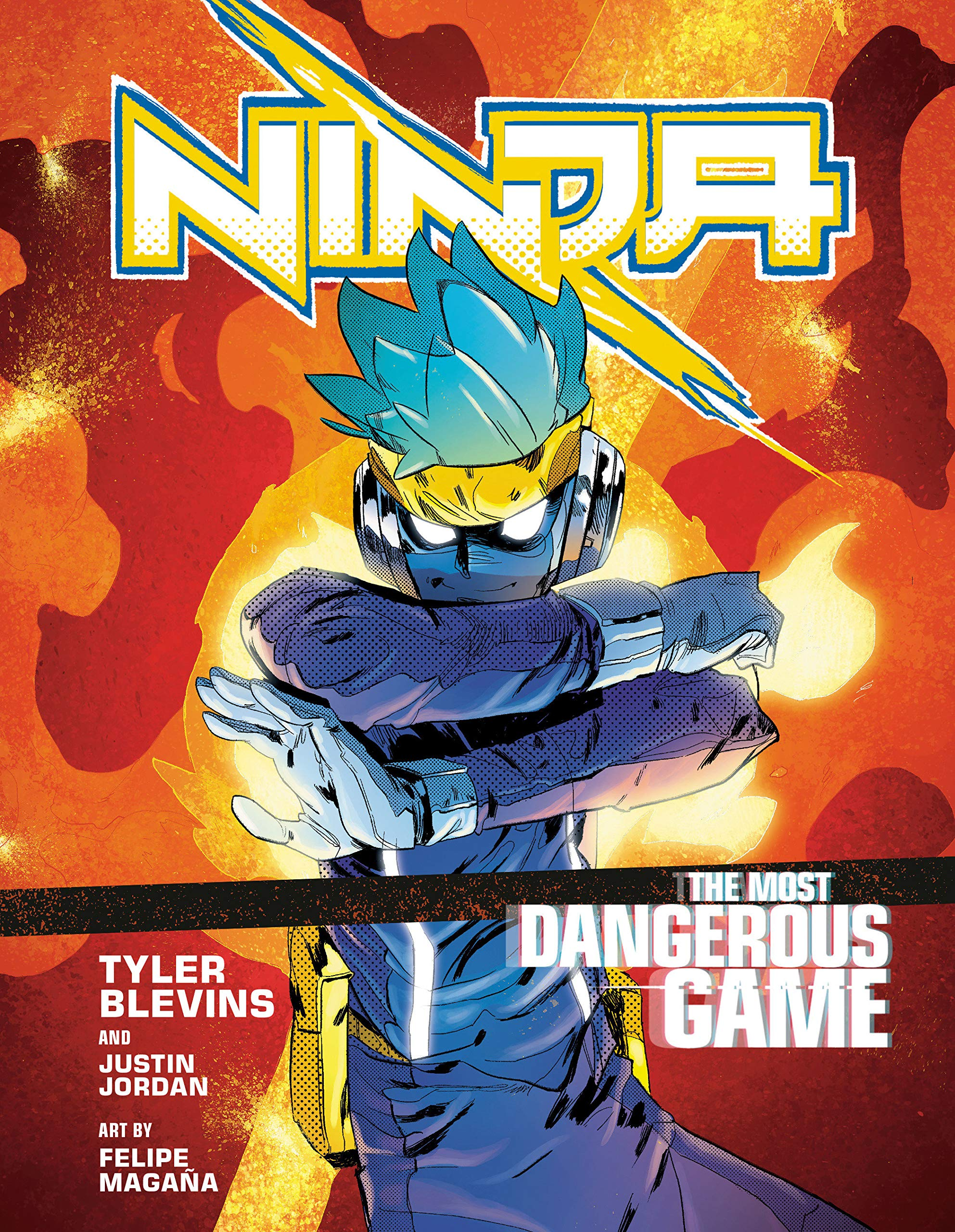 "Ninja: The Most Dangerous Game: [A Graphic Novel]: Amazon.ca: Blevins,  Tyler ""Ninja"", Jordan, Justin, Magaña, Felipe: Books"