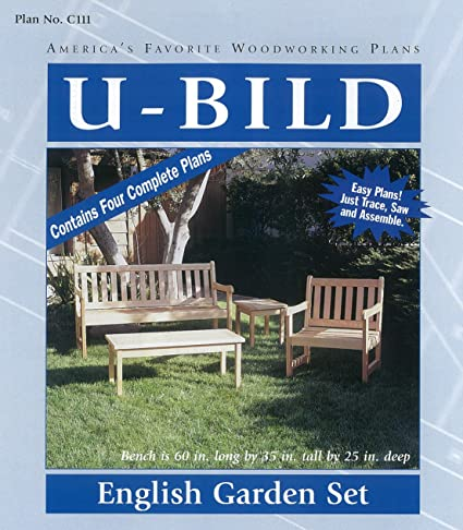 Magnificent U Bild C111 English Garden Set Project Plans Spiritservingveterans Wood Chair Design Ideas Spiritservingveteransorg