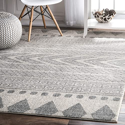 nuLOOM Shaina Tribal Area Rug, 3 x 5 , Grey