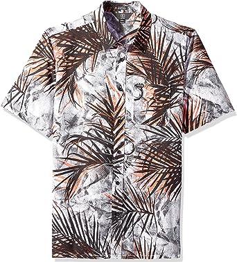 Volcom Hombre A0431800 Manga corta Camisa de botones - Blanco - X-Small: Amazon.es: Ropa y accesorios