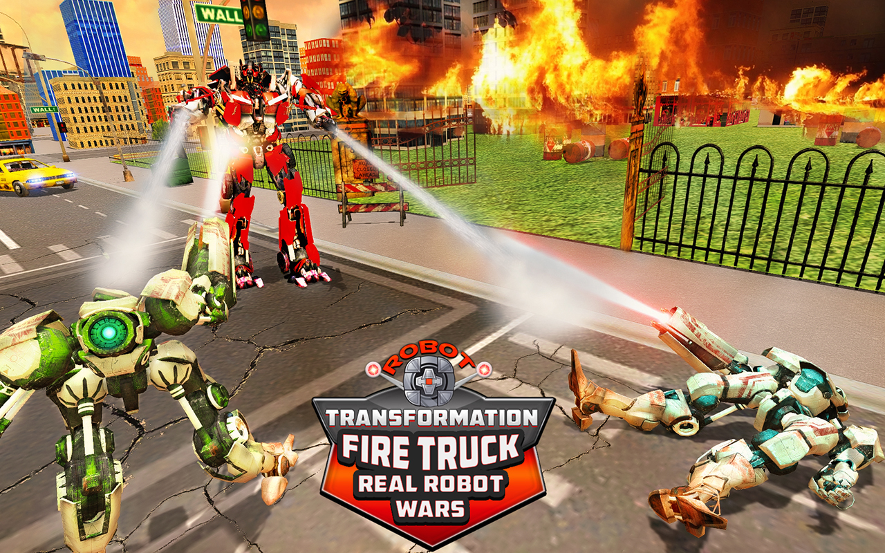 Robot Transformation Fire Truck: Real Robot Wars: Amazon.es: Appstore para Android