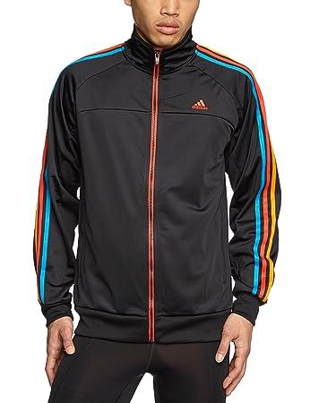 adidas Essentials 3S Climalite Herren Trainingsjacke: Amazon